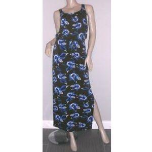 Diane von Furstenberg floral maxi dress size 4